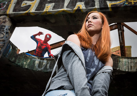 Spiderman and Mary Jane cosplay